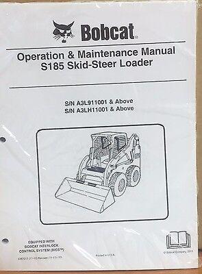 Bobcat S185 Skid Steer Operation Maintenance Manual Operatorowners 5 6987011