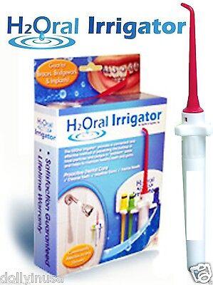 Dental H2oral Irrigator Easy Way To Floss Teeth In The Sh...