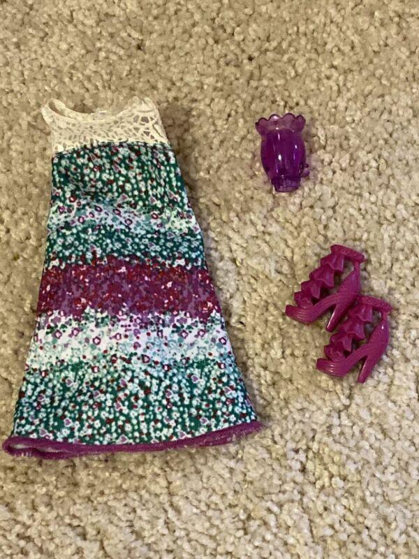 BARBIE & FRIENDS~CLOTHES LOT~DRESS & SHOES