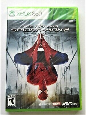The Amazing Spider-Man 2 (Microsoft Xbox 360, 2014) Brand New Factory Sealed