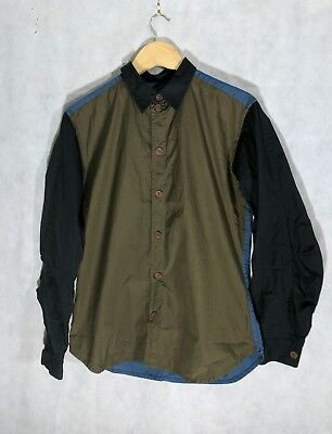 Christopher NEMETH Colorblock Shirt Medium Slim