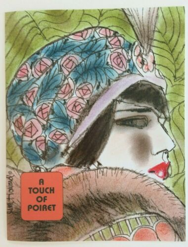 Gorgeous! A TOUCH OF POIRET PAPER DOLLS by Jim Howard Beautiful couture fashions