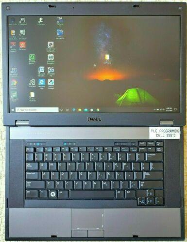 WINDOWS 10 Automation PLC HMI Laptop Programming Software Studio PRO 5000 STEP 7