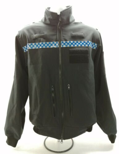 Ex Police Soft Shell Jacket Windproof Breathable Security Bouncer Uniform Patrol