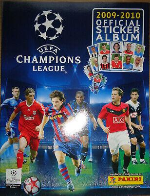 Fußball Champions League 2009 / 2010/ Leeres Sticker Album / Panini