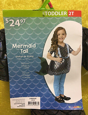 Mermaid Tail Toddler Costume 2T