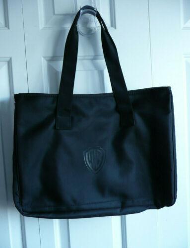 """WB Warner Bros. """"Bethenny"""" Large Tote Bag - Color Black - 17"""" x 12"""" x 5"""" - Rare"""