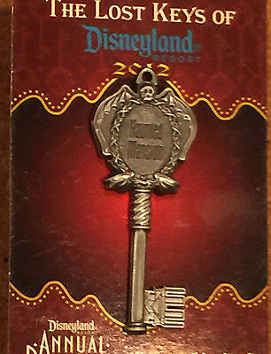 Disney Pin DLR Unlock the Magic of Disneyland Lost Keys  Haunted Mansion