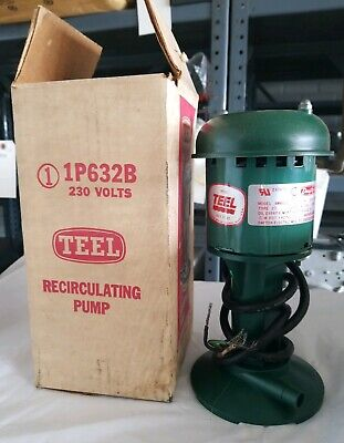 1p632b Teel 170hp 230v Coolant And Recirculating Pump - 2 Available New