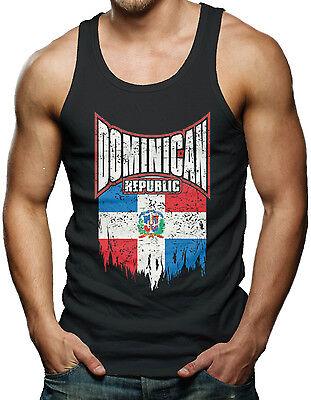 Dominican Republic Flag   Dominican Pride Mens Tank Top T Shirt