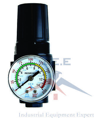 38 Air Compressor Regulator Npt Heavy Duty With Gauge R513n