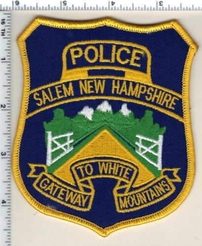 Salem Police (New Hampshire)  Shoulder Patch  - new from 1993