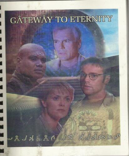 STARGATE SG-1 fanzine GATEWAY TO ETERNITY