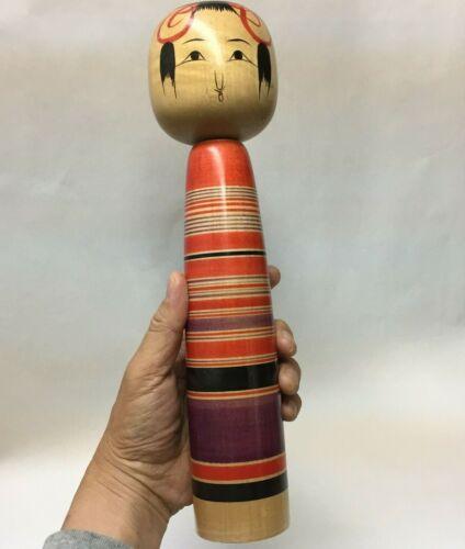 31.5cm good condition Chushichi Vintage Kokeshi No.J58G