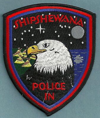 SHIPSHEWANA INDIANA POLICE PATCH