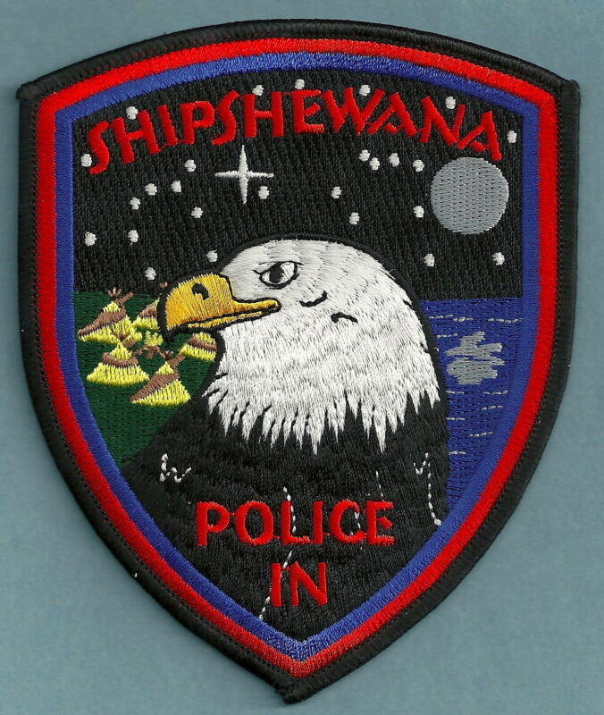 SHIPSHEWANA INDIANA POLICE SHOULDER PATCH