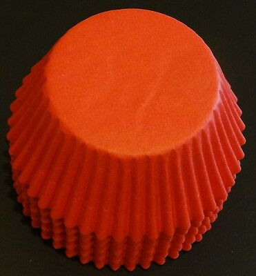 50 Red Cupcake Liners Baking Cups STANDARD SIZE BC-33-50