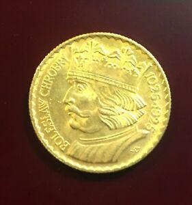 1925-Poland-20 Zlotch Gold Coin