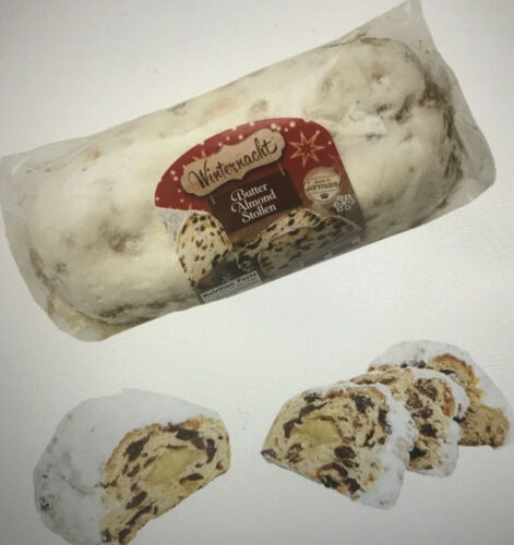 ❤️VALUE 2 PACK Winternacht BUTTER ALMOND HOLIDAY STOLLEN Made in Germany  26.4oz