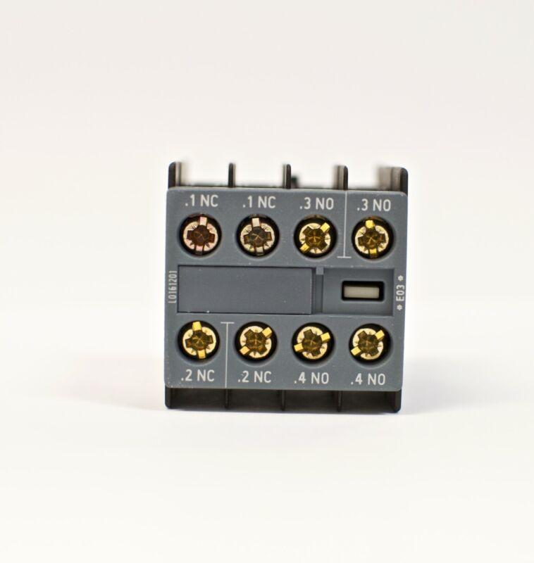 Siemens Auxiliary Switch Block 3RH2911-1HA22 for Siemens Contactors