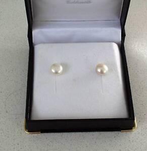 Pearl Stud Earings - New never worn Kelvin Grove Brisbane North West Preview