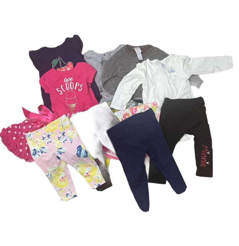 Baby Girl Clothes 9-18 Months Lot