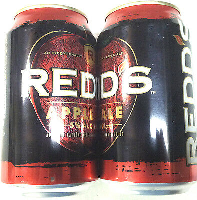 Redds Apple Ale 12 oz alum beer can 2013 Albany Georgia 842004 empty bottom open
