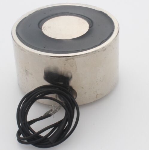 DC24V 50W 50KG 110LB Electric Lifting Magnet Holding Electromagnet Solenoid