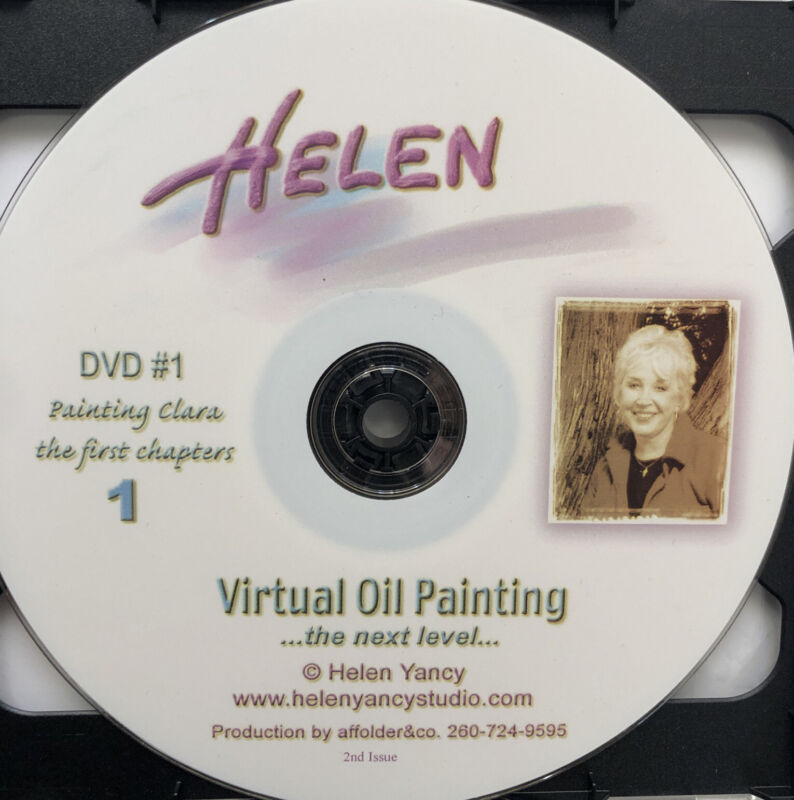 Helen Yancy Virtual Oil Painting DVD 2 Disc Set.