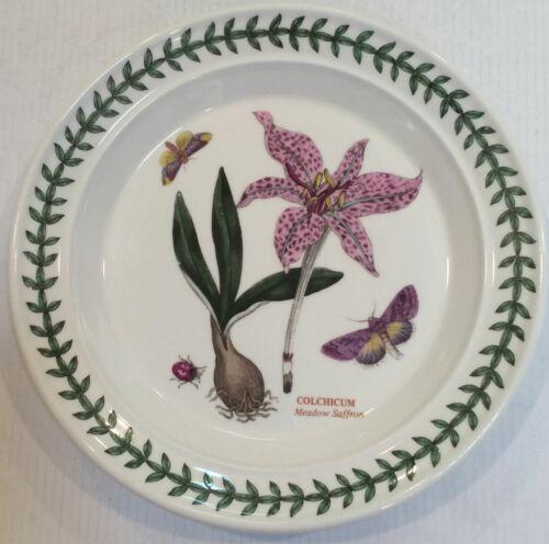 PORTMEIRION Meadow Saffron-Colchicum Bread & Butter Plate  Botanic Garden