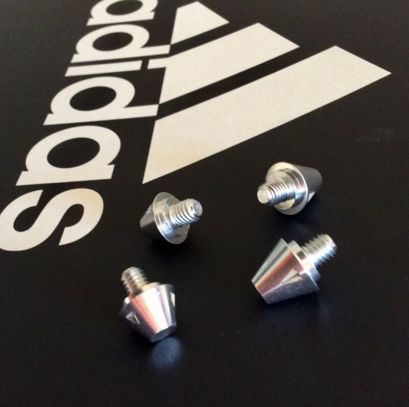New Adidas SG 8 or 11mm Soccer Conical Stud/Cleat metal replacement soft ground