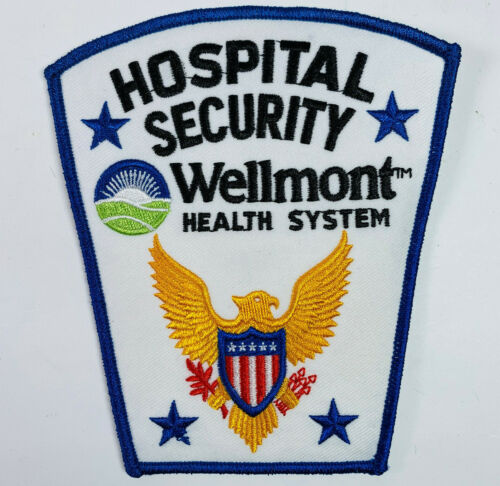 Wellmont Health System Hospital Security Kingsport Tennessee TN Patch (A4)