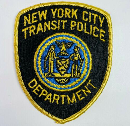 New York City Transit Police NY Patch (A5-B)