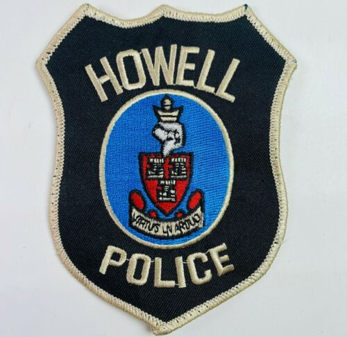 Howell Police New Jersey NJ Patch (A9)