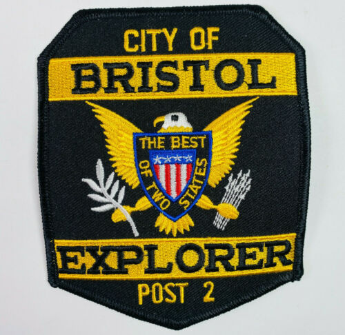 Bristol Police Explorer Post 2 Tennessee TN Patch (A5)