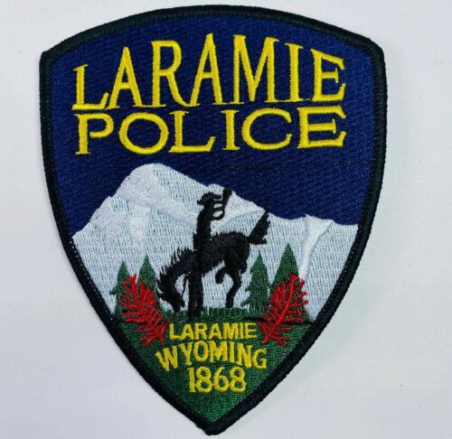 Laramie Police Albany County Wyoming WY Patch