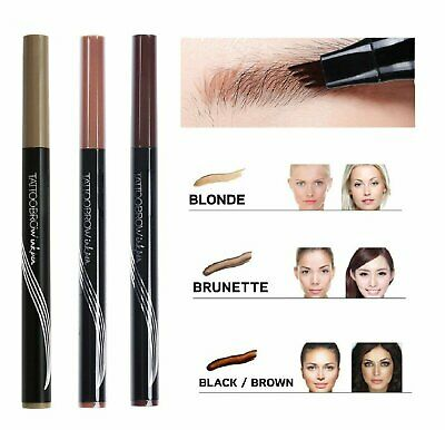 Microblading Tattoo Eyebrow Ink Pen Eye Brow Makeup Pencil SR48 Eyebrow Liner & Definition