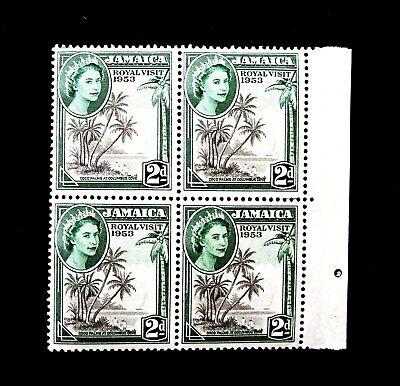 Jamaica Scott #154, Block of 4 - Visit by Queen Elizabeth II- MNH,  #J326