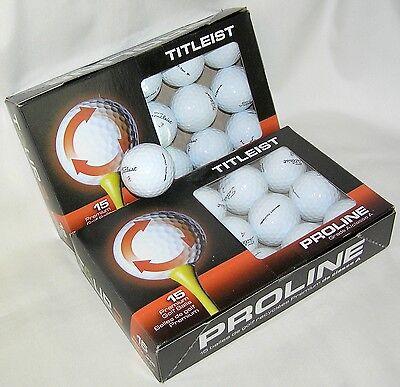 30 Titleist NXT Tour golf balls Grade AAAAA Best 5A recycled balls LOT