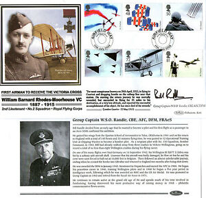 2008-AIR-DISPLAYS-SIGNED-GROUP-CAPTAIN-BILL-RANDLE-BENHAM-FIRST-DAY-COVER-SHS