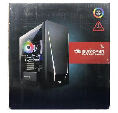 iBUYPOWER Trace 4 9310 Gaming PC - AMD Ryzen 5 3600, RX 5500 XT, 8GB, 240 GB SSD