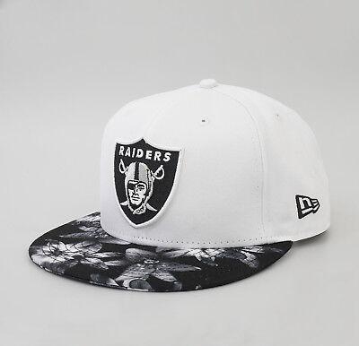 NEW ERA NFL 9Fifty Cap Oakland Raiders Floral S/M Mütze Kappe Snapback RAR SALE