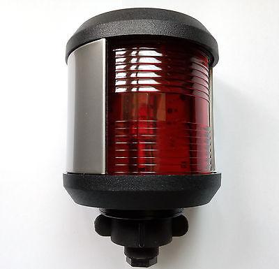 Marine boat yacht Navigation light 12V/24V Red LED Port Light 20M