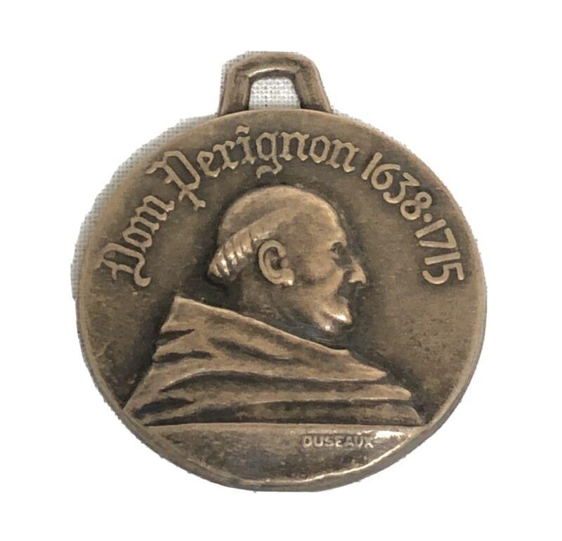 Dom Perignon 1743 Moet & Chandon Champagne Medal 1638 - 1715