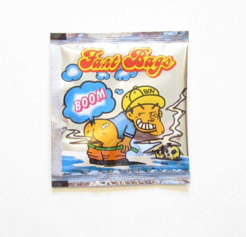 6 FART BOMB BAGS STINKY NASTY SMELLY ODER GAS STINK BOMBS PRANK JOKE GAG GIFT