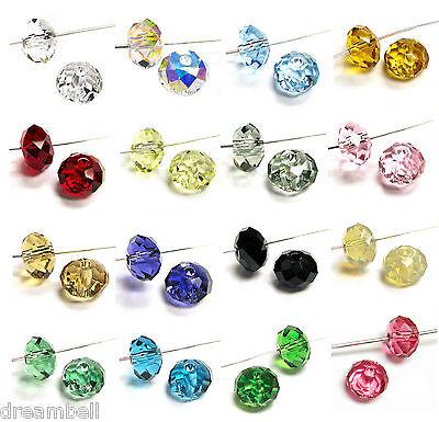 Swarovski Crystal Elements 5040 Bead RONDELLE Spacer Many Color & Size  - 5040 Spacer