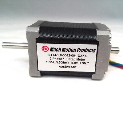 Nema 14 Stepper Motor 42 Oz-in Holding Torque 1.0 Aph 1.8 Step Angle