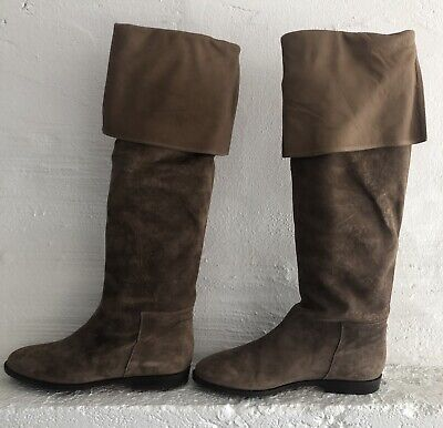 Womens Suede Gucci Boots Vintage (new)