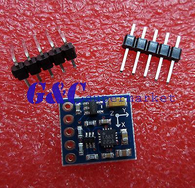 2pcs Hmc5883l Power Supply3v-5v Triple Axis Compass Magnetometer Sensor Module