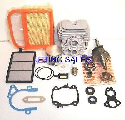 Cylinder Piston Crankshaft Kit Fits Stihl Ts410 Ts420 Nikasil